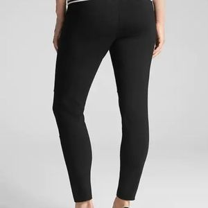 GAP Pants - Gap Maternity Moto Full Panel Leggings True Black